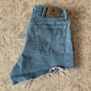 Vintage Wrangler Highwaisted Denim Shorts